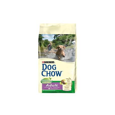 Dog Chow Adult сухой корм для взрослых собак Ягненок