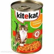 KiteKat - Китикет консервы для кошек (курица)