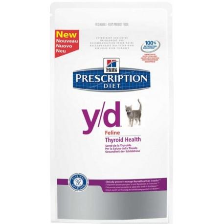 Hills Prescription Diet  Y/D Хиллс диета  Y/D для кошек лечение гипертиреоза