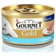 Gourmet Gold консервы для кошек Паштет с тунцом