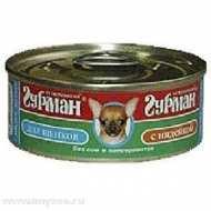 Четвероногий Гурман консервы для щенков мясное ассорти с индейкой