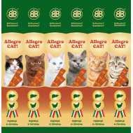 B&B Allegro Cat Колбаски для кошек  Курица/Печень