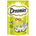Dreamies лакомые подушечки для кошек с Уткой