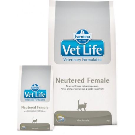 Farmina Vet Life Neutered Female Фармина сухой корм для стерилизованных кошек