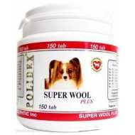 Polidex Super wool plus Полидекс Супер вул плюс Витамины для собак для улучшения шерсти