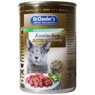 Dr. Clauder`s Др.Клаудер кон.для кошек Кусочки в соусе Кролик