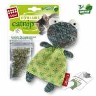 GiGwi  75299 Игрушка для кошек Лягушка с кошачей мятой