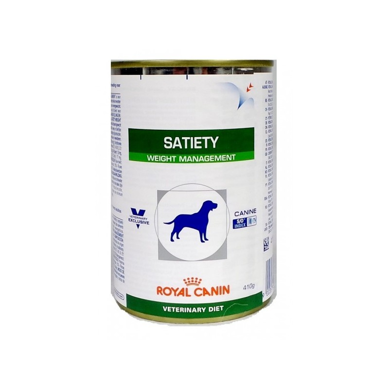 Корм royal canin satiety dogs