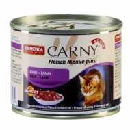 Animonda Carny Adult Анимонда консервы для кошек Говядина и Ягненок