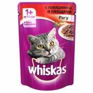 Whiskas - Вискас пауч для кошек Рагу с говядиной и овощами
