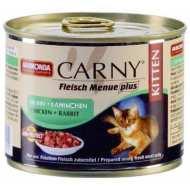 Animonda Carny Fleisch Menue plus Анимонда для котят с курицей и кроликом