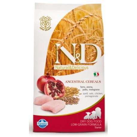 Farmina N&D LG Фармина сухой корм для собак мелких пород КурицаГранат