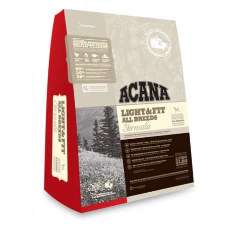 Acana Adult Light & Fit - Акана низкокалорийный корм для взрослых собак