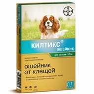 Килтикс ошейник от блох и клещей для мелких собак 38 см (KILTIX)