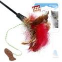 GiGwi Дразнилка для кошек с рыбкой на длинной палке