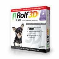 Рольф Клуб 3Д ошейник от клещей и блох для средних собак