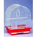 Kredo  А100 Клетка для птиц цветная овальная, комплект