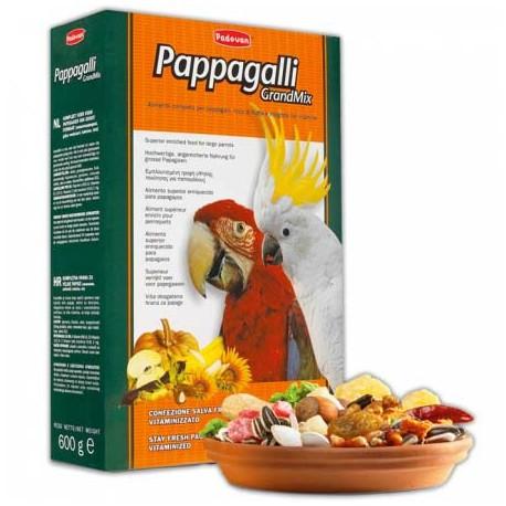 Padovan Grangmix Papagali Падован основной корм для крупных попугаев
