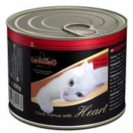 Леонардо консервы для кошек - Отборное мясо с сердцем