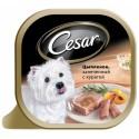Cesar консервы для собак Цыпленок, запеченный с курагой
