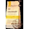 Grandorf Сухой низкозерновой корм класса холистик c живыми пробиотиками 4вида мяса/бурый рис для стерилизованных кошек
