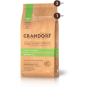 Grandorf Сухой низкозерновой корм класса холистик Ягненок с рисом для взрослых собак мелких пород