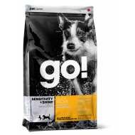 ГОУ! GO! SENSITIVITY + SHINE Для Щенков и Собак с Цельной Уткой и овсянкой