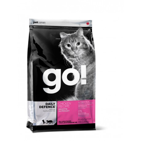 ГОУ! GO! Sensitivity + Shine Grain Беззерновой для котят и кошек с чувствительным пищеварением со свежей уткой