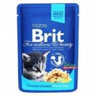 "Brit Premium Брит Премиум пауч для котят ""Курица"""