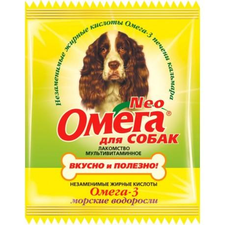 Омега Nео м/в лакомство для собак Морские водоросли
