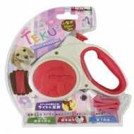 DoggyMan Teku Рулетка для собак размер S (3 м., до 10 кг.) РЕМЕНЬ