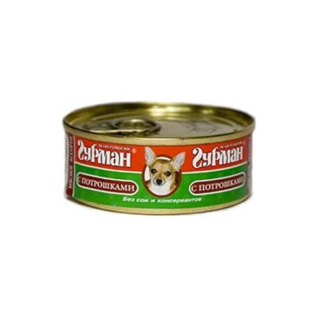 Четвероногий гурман консервы для собак мясное ассорти с потрошками