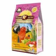 Верные друзья корм Для волнистых попугаев с овощами и фруктами