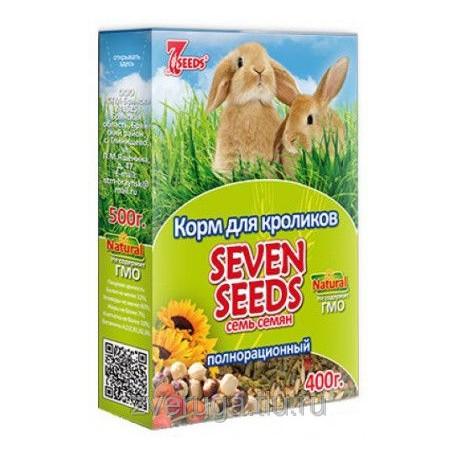 Seven Seeds Корм 7 семян для хомяков с фруктами, 500 г