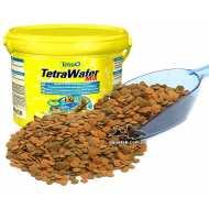 Tetra Wafer Mix Смесь основного корма для травоядных, хищных и донных рыб с добавлением креветок.