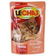 Lechat - Лешат пауч для кошек Лосось/Тунец