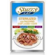 Stuzzy cat sterilized Штуззи консервы для стерилизованных кошек с Индейкой