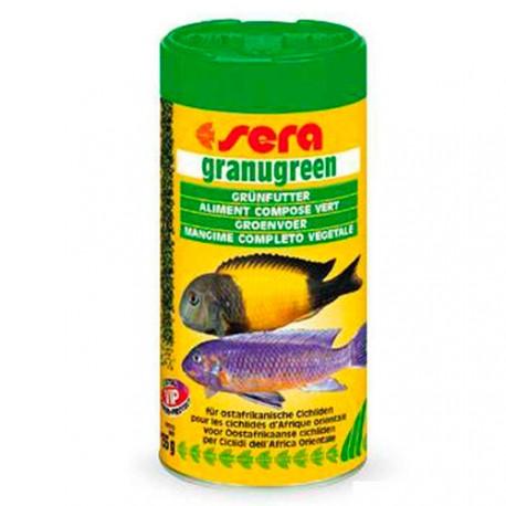 Sera GranuGreen Сера  Корм гранулированный для растительноядных цихлид