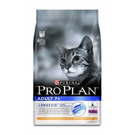 Pro Plan Adult 7+ Про План сухой корм для кошек старше 7 лет Курица