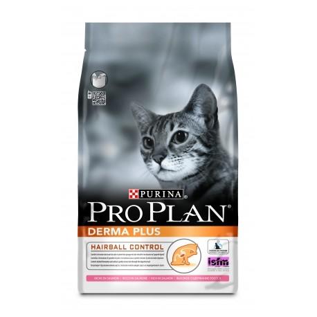 Pro Plan Derma Plus Про План Дерма сухой корм для кошек с чувствительной кожей и шерстью Лосось