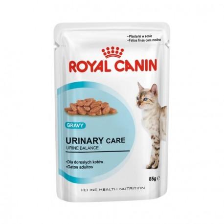 Royal Canin Urinary Care Влажный корм для кошек,при риске развития струвитного типа МКБ в соусе