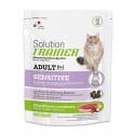 Trainer Solution Sensitive Сухой корм монобелковый д/чувствительных и склонных к аллергии кошек