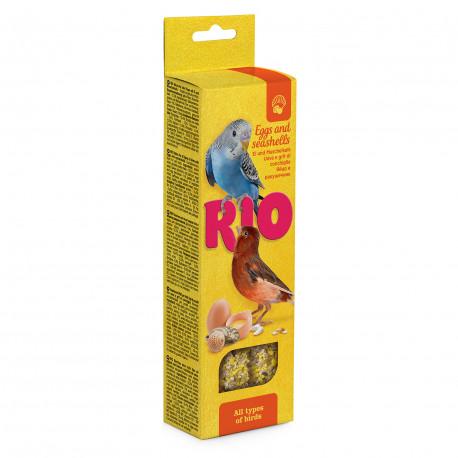 Rio Рио Палочки для всех видов птиц с яйцом и ракушечником