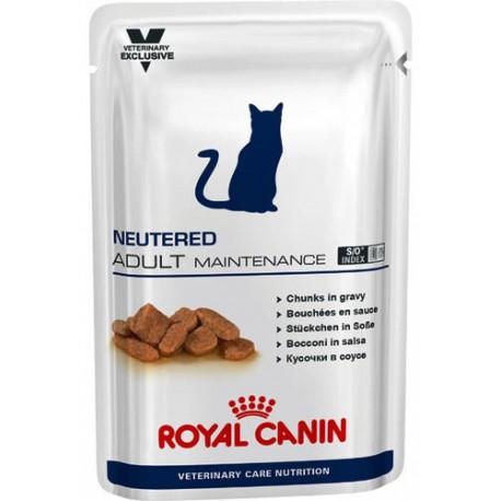 Royal Canin Neutered Adult Maintenance - влажный корм для кастрированных/стерилизованных котов до 7