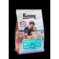 KARMY орм для собак средних и крупных пород склонных к пищевой аллергии Ягненок
