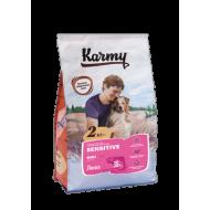 KARMY для собак средних и крупных пород с чувствительным пищеварением Лосось