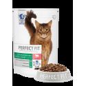 Perfect Fit Sterile сухой корм для кастрированных котов и стерилизованных кошек, Говядина