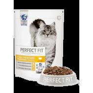 Perfect Fit Sensitive Сухой корм для чувствительных кошек Индейка