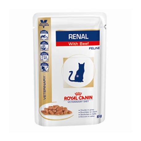 Royal Canin Renal Роял Канин Ренал пауч для кошек с хронической почечной недостаточностью Курица