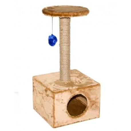 Дарэлл Домик-когтеточка для кошек квадратный малый арт.8111